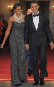 President and First Lady Obama