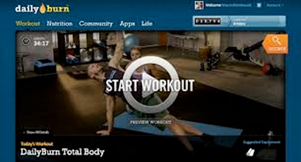 streaming fitness video